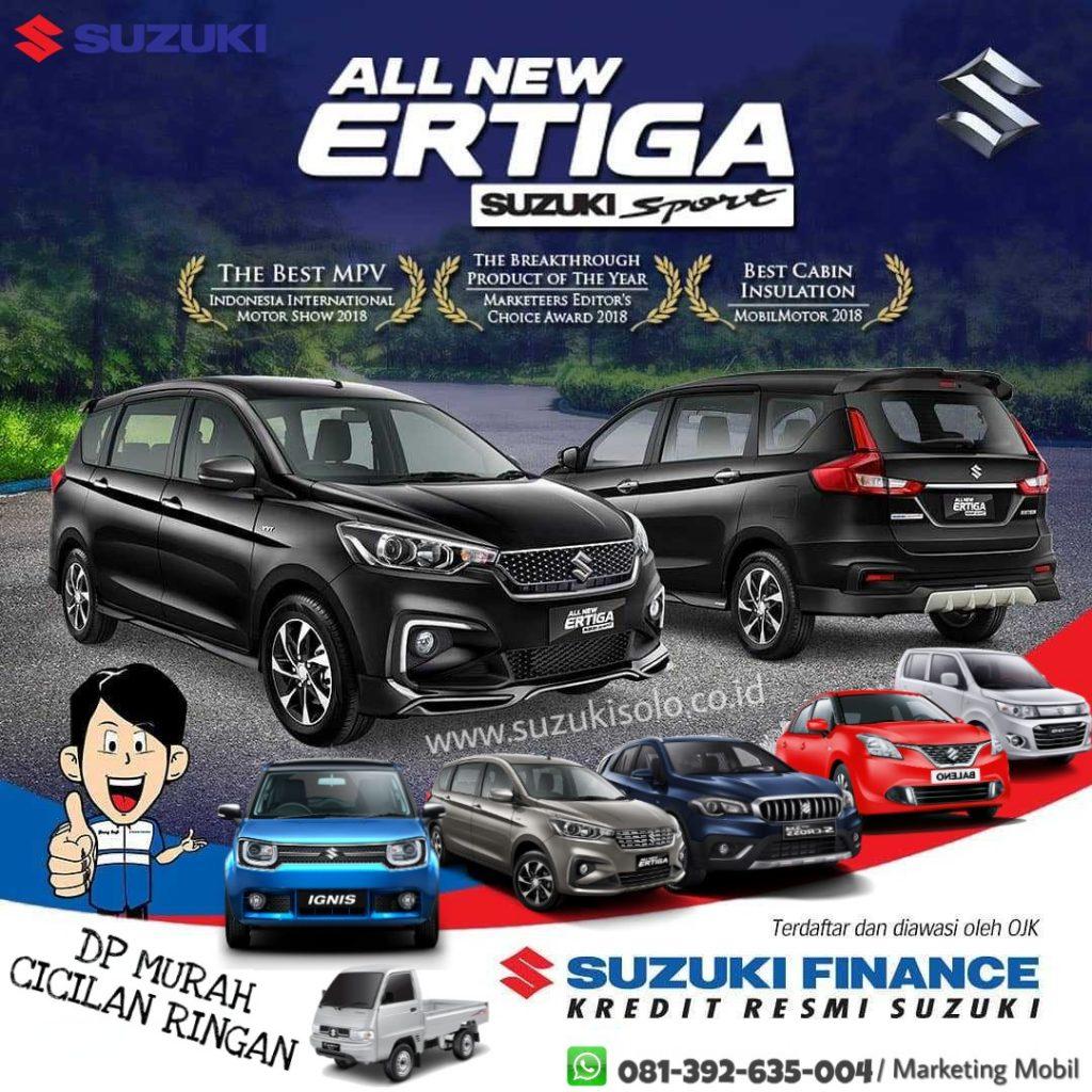 All New Ertiga Sport Dp Murah Cicilan Ringan Di Suzuki Solo
