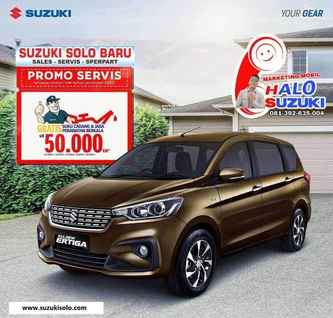 Promo Servis Berlimpah Untung Di Dealer Suzuki Solo