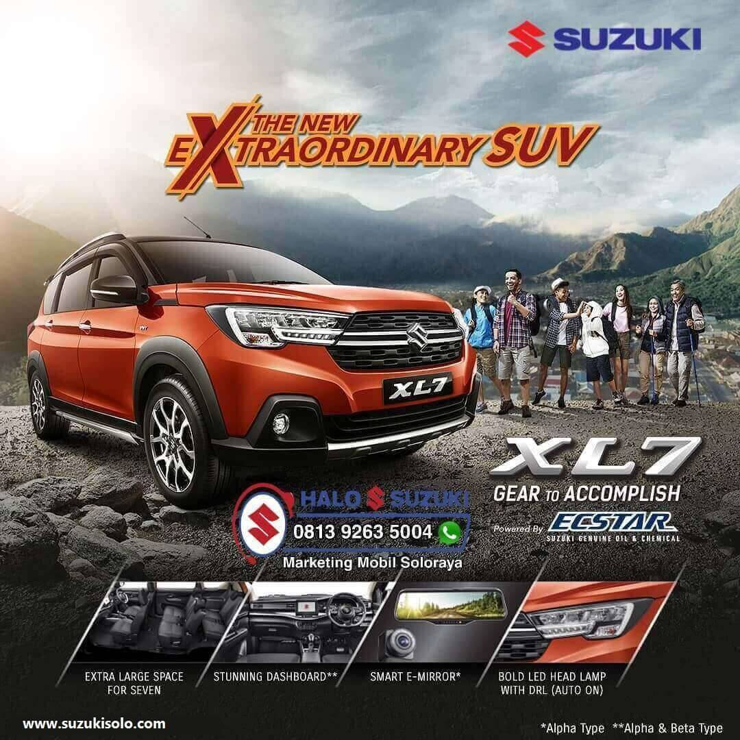 The New Extraordinary SUV XL7 Di Dealer Suzuki Solo