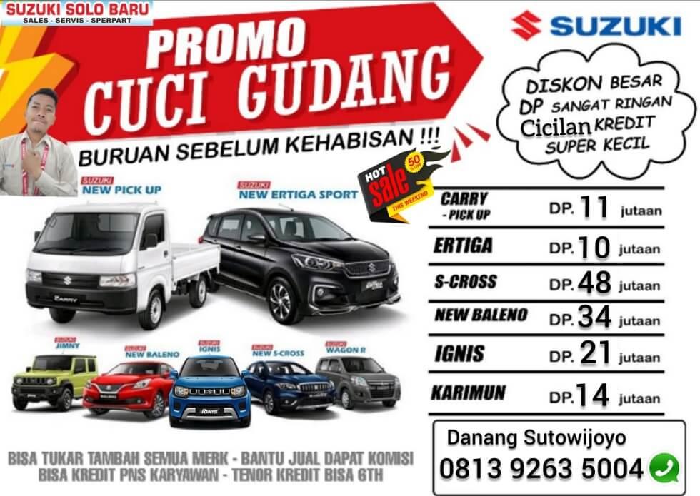 Hot Sale Promo Cuci Gudang Akhir Tahun Suzuki Solo